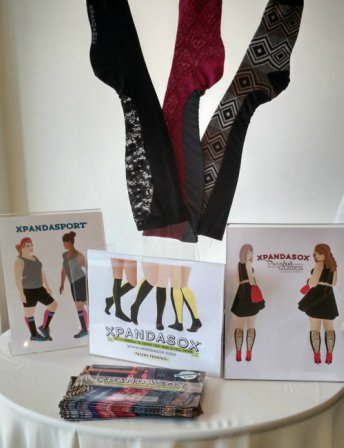 Meet Sharon Thorp, founder of Xpandasox: a game-changer in women's leg wear!