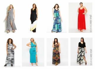 dressing room 8 plus size maxi dresses