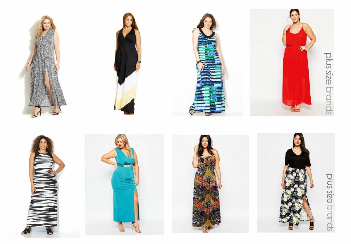 My top 8 Plus Size Maxi Dress Picks – all on sale!