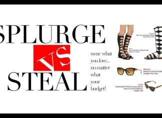 plus model magazine splurge vs. steal