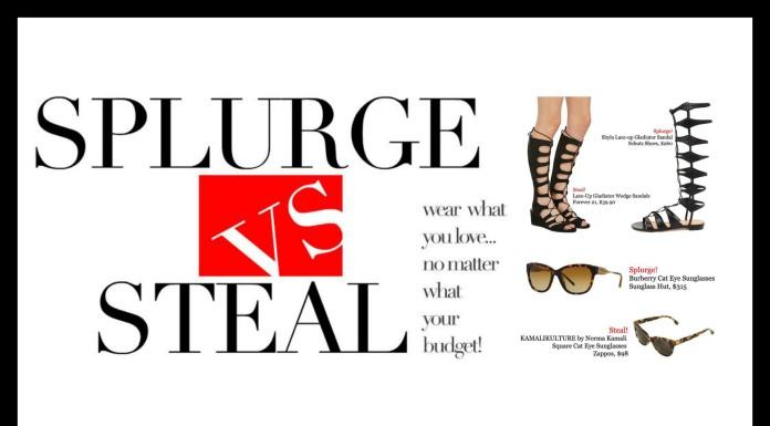 plus model magazine splurge vs. steal