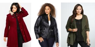 Plus size fall jackets