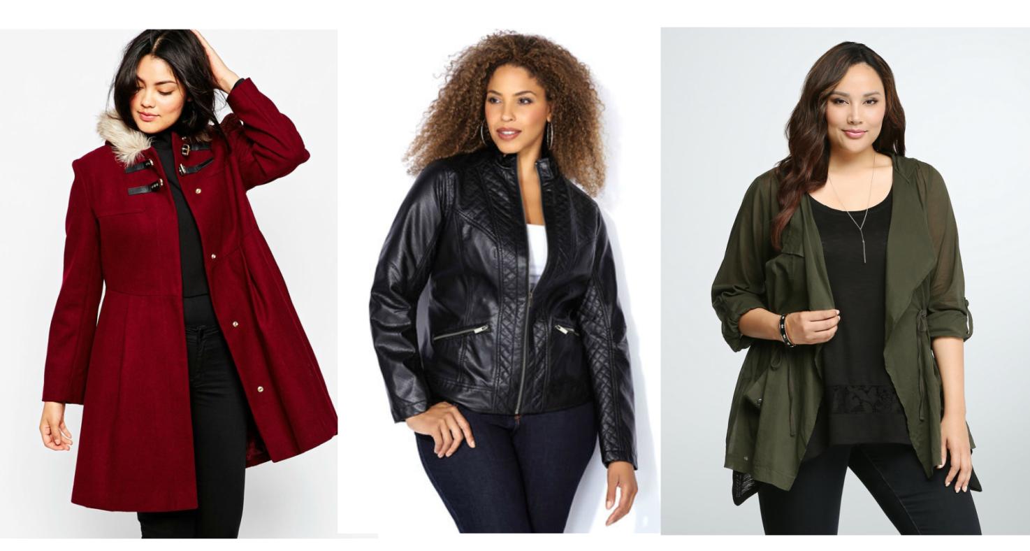 Curvy Fashion Alert: Fall Coats & Jackets You Can't Resist!