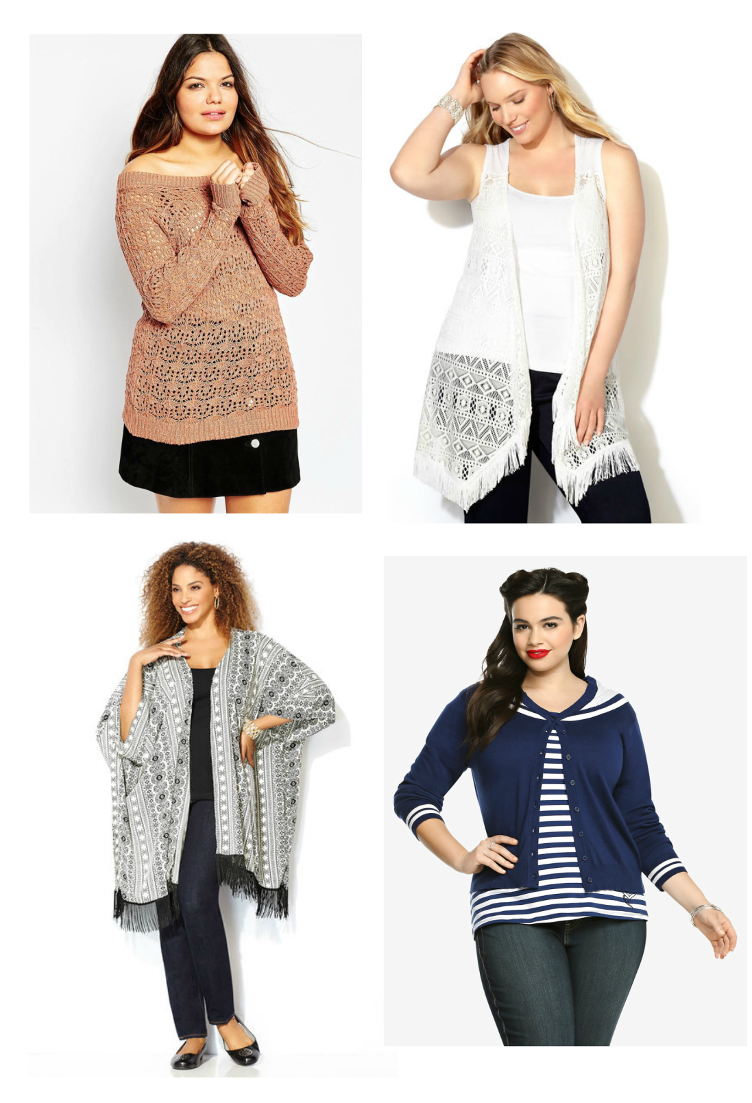 Cardigans, Sweaters, Vests…Oh My!