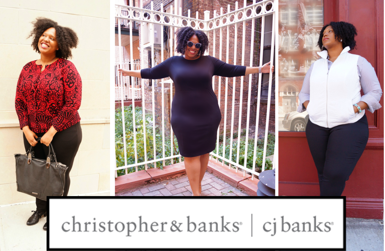 Professional (Curvy) Wear with Christopher & Banks!