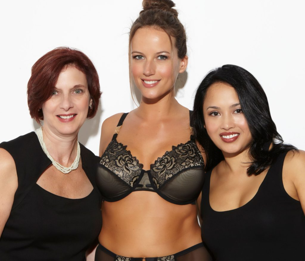 Left to Right: Meryl Kutzin, Kortnie Coles, and Liz Marrell