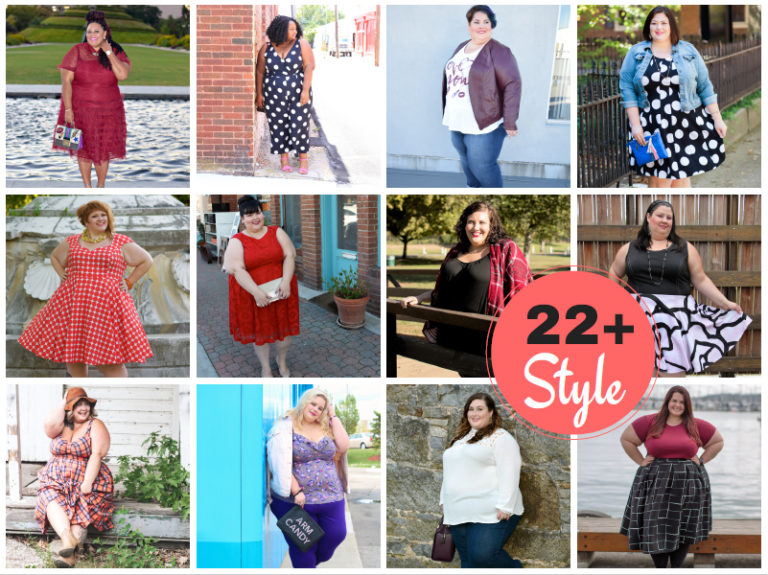 How to Style For Size 22 and Up: A Blogger Collaboration